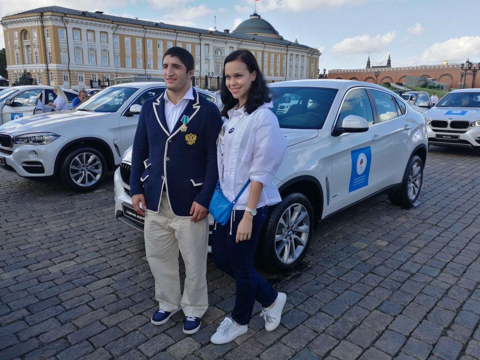 Российские призеры Рио-2016 получили поBMW— фото 624881