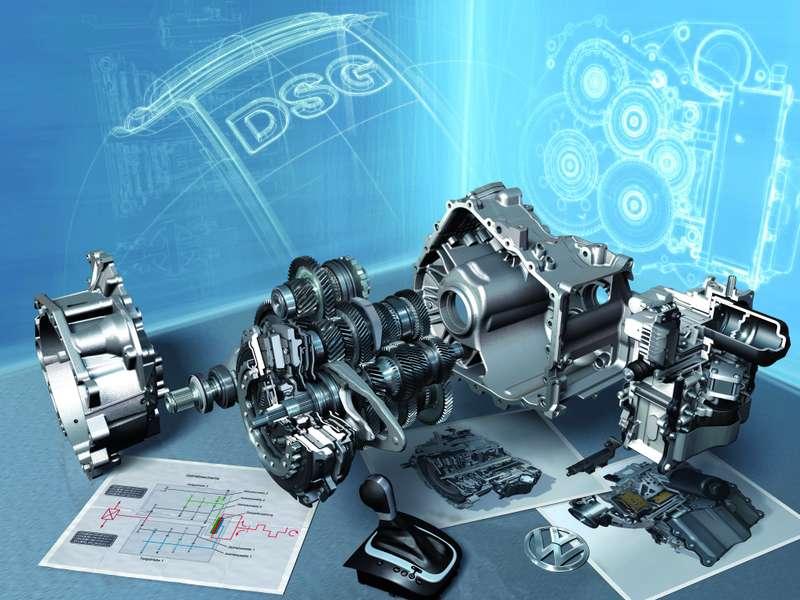 DSGBarcelona 2008 /Das neue 7Gang Doppelkupplungsgetriebe DSG: