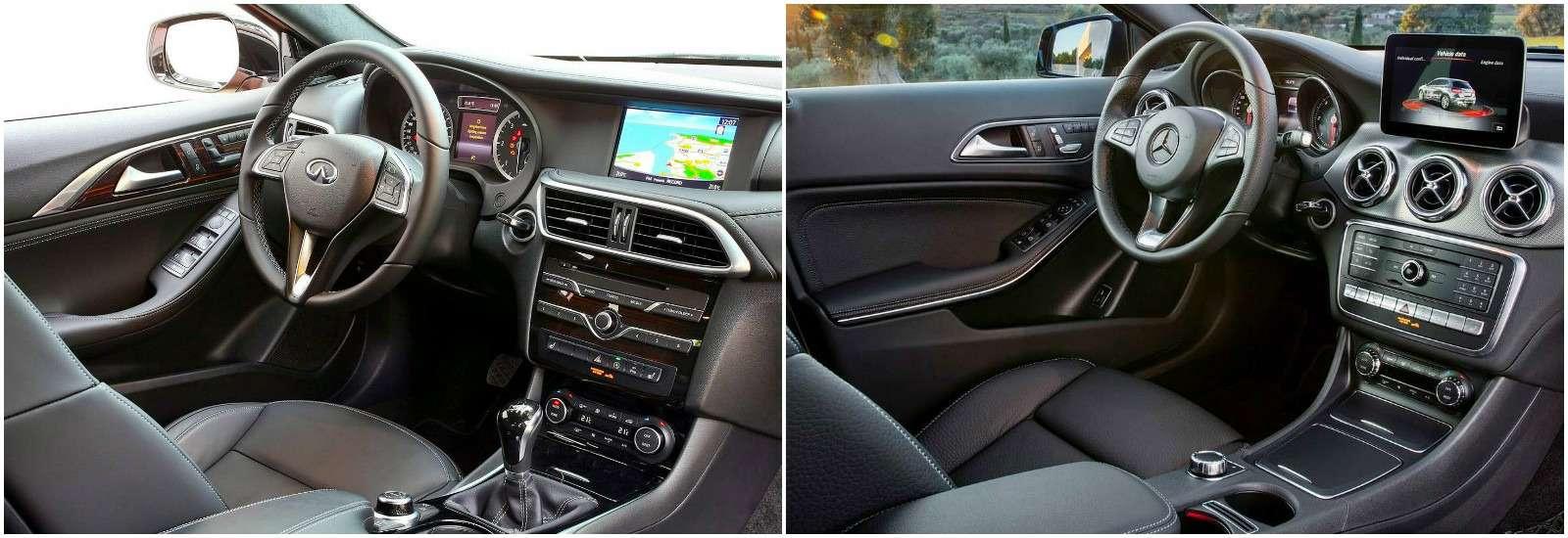 Infiniti QX30и Mercedes-Benz GLA