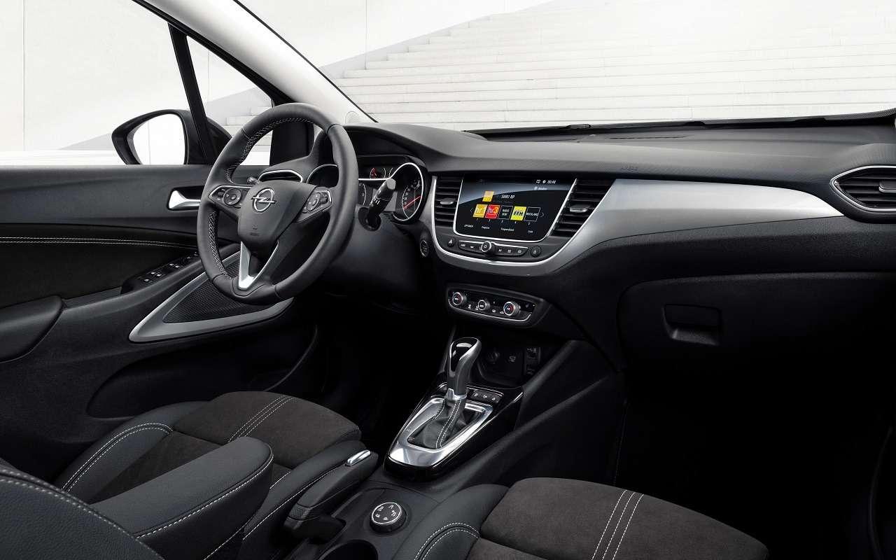 Opel Crossland: новый кроссовер приедет в Россию - фото 1178434