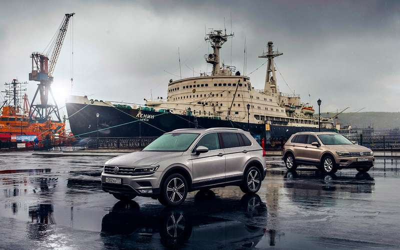 Volkswagen Tiguan — самый суровый тест