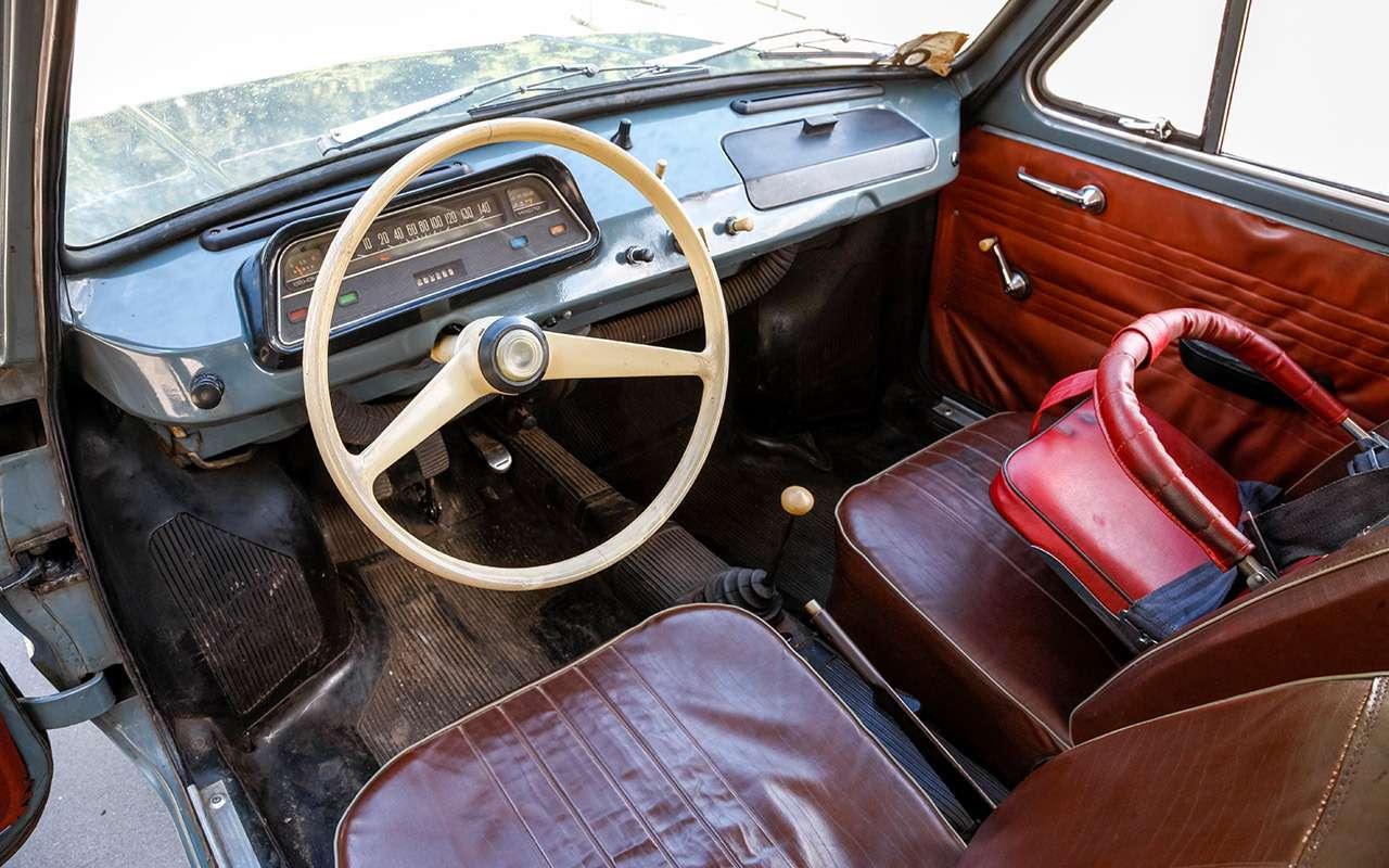 ЗАЗ‑966: история любимой машины наших дедов— фото 1211081