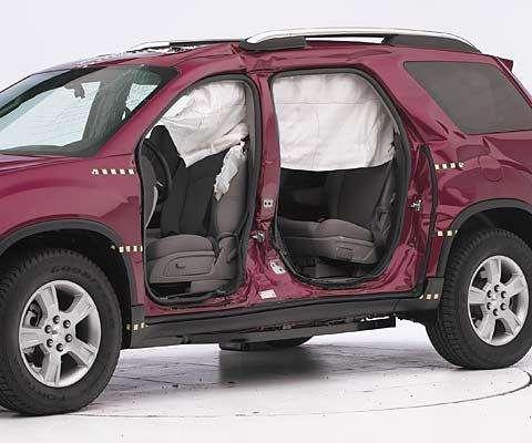 Honda Odyssey итри GMSUV стали отличниками безопасности