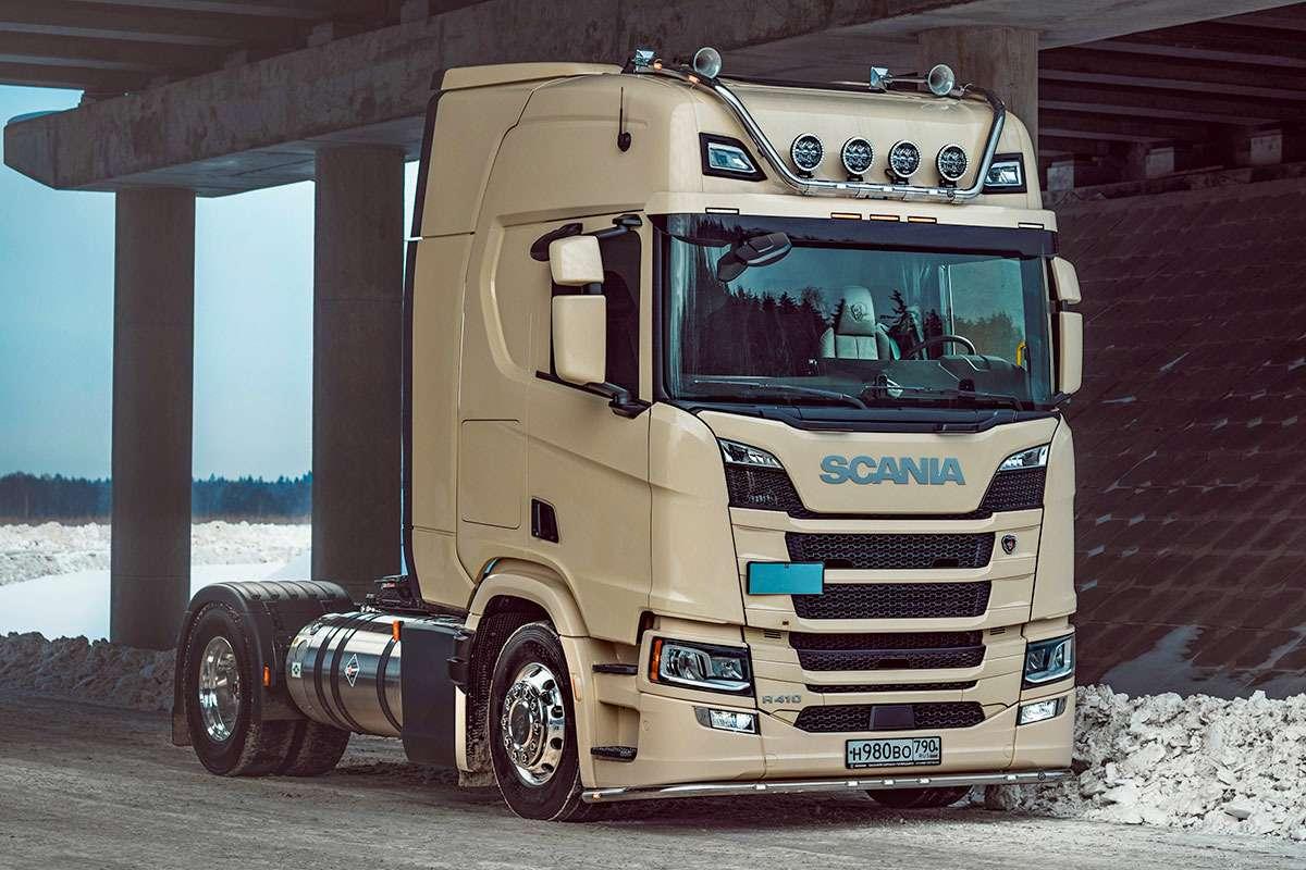 Scania R4104Х2СПГ