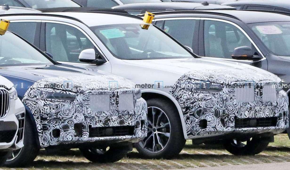 Первые фото обновленных BMW X3и X4— фото 1178383