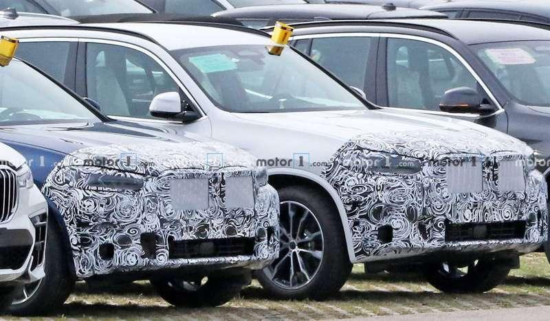 Первые фото обновленных BMW X3и X4