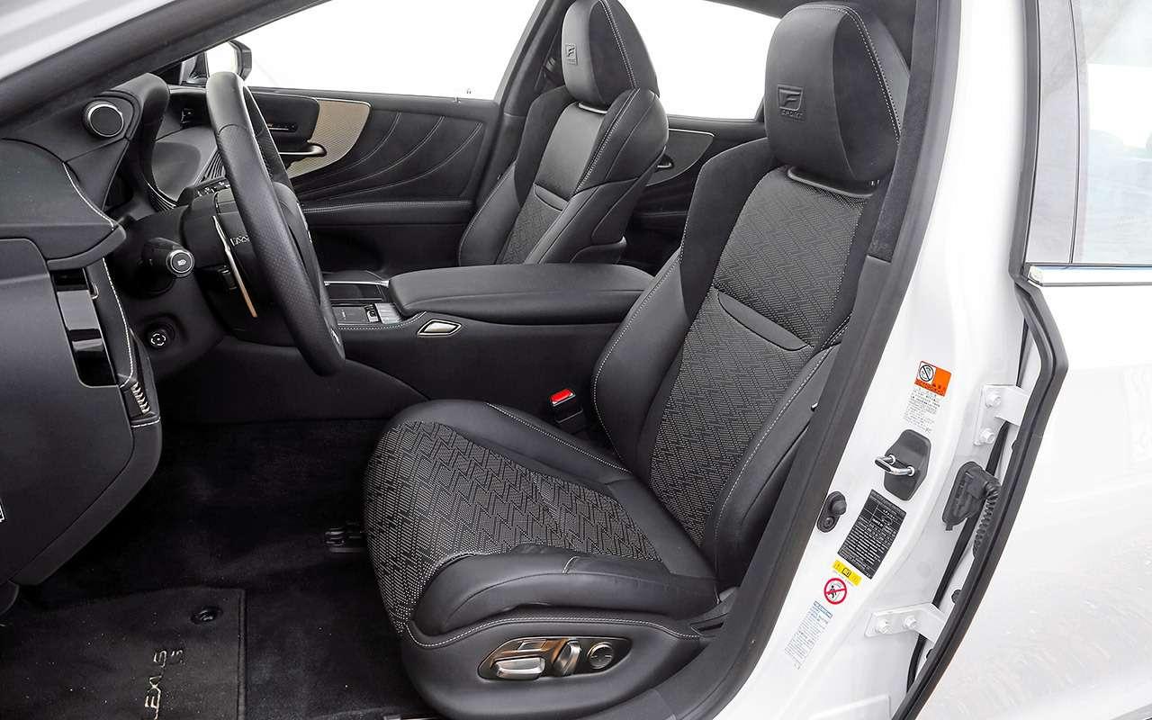 Большой тест престижных седанов: новый Lexus LS500и конкуренты— фото 928763
