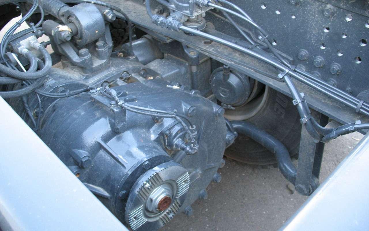Тяжелые грузовики IVECO Trakker: все особенности— фото 1233446
