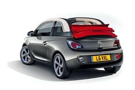 Vauxhall Adam Cabrio rendering byAuto Express side-rear view_no_copyright
