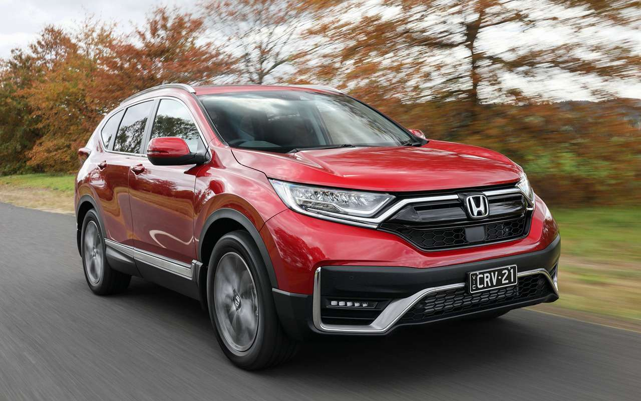 Обновленный Honda CR-V - скоро в России - фото 1164771
