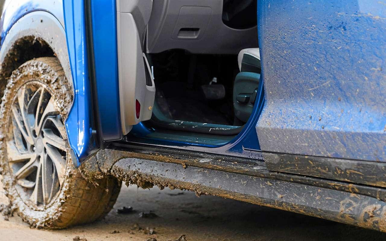 Новый Subaru Forester против конкурентов: большой тест кроссоверов— фото 935692