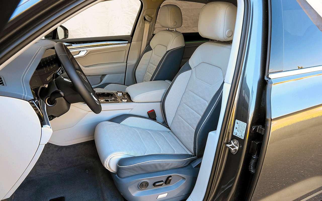 Новый VWTouareg, Land Rover Discovery иLexus RX350: большой тест-драйв— фото 899474