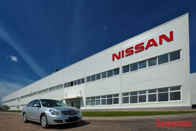 Завод Nissan_Spb