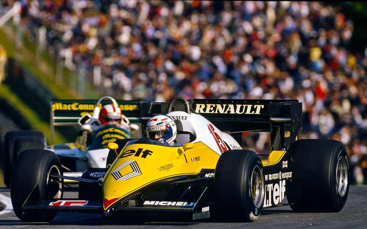 Российский этап Формулы-1: взгляд избокса Renault Sport F1Team— фото 918471