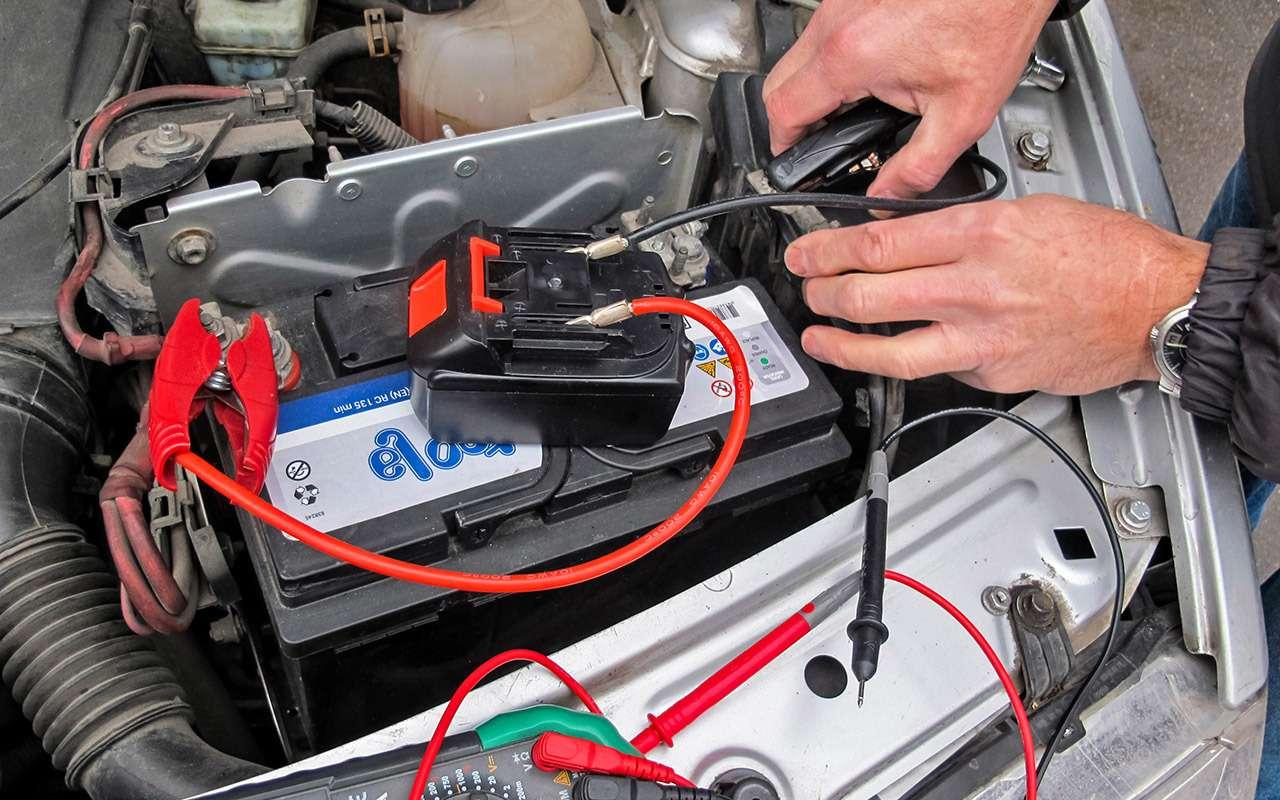 Заводим мотор без аккумулятора— эксперимент «Зарулем»— фото 1220537