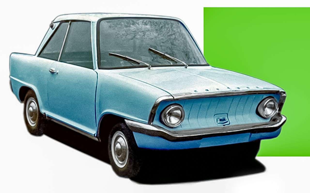 13народных автомобилей СССР, которых какбы не было— фото 1001096
