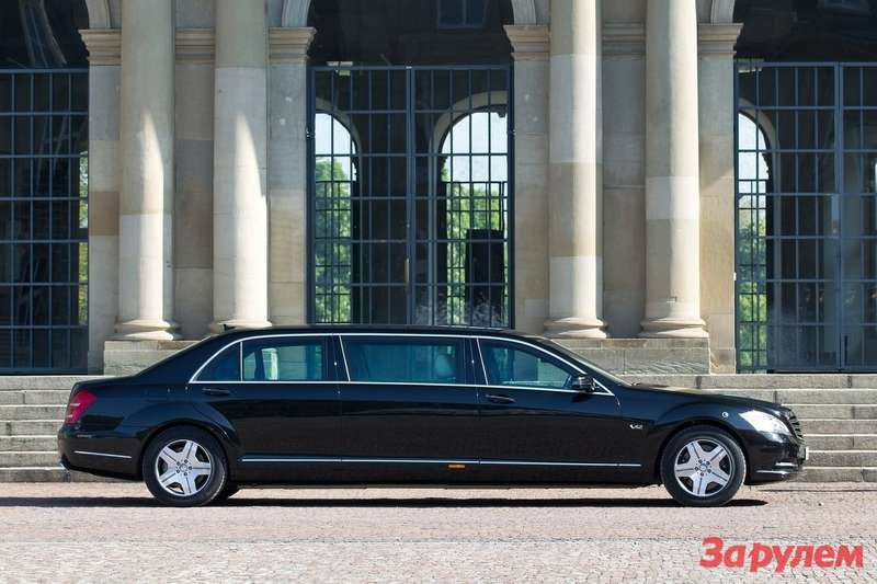 Mercedes Benz S600 Pullman Guard 2011 1600x1200 wallpaper 07