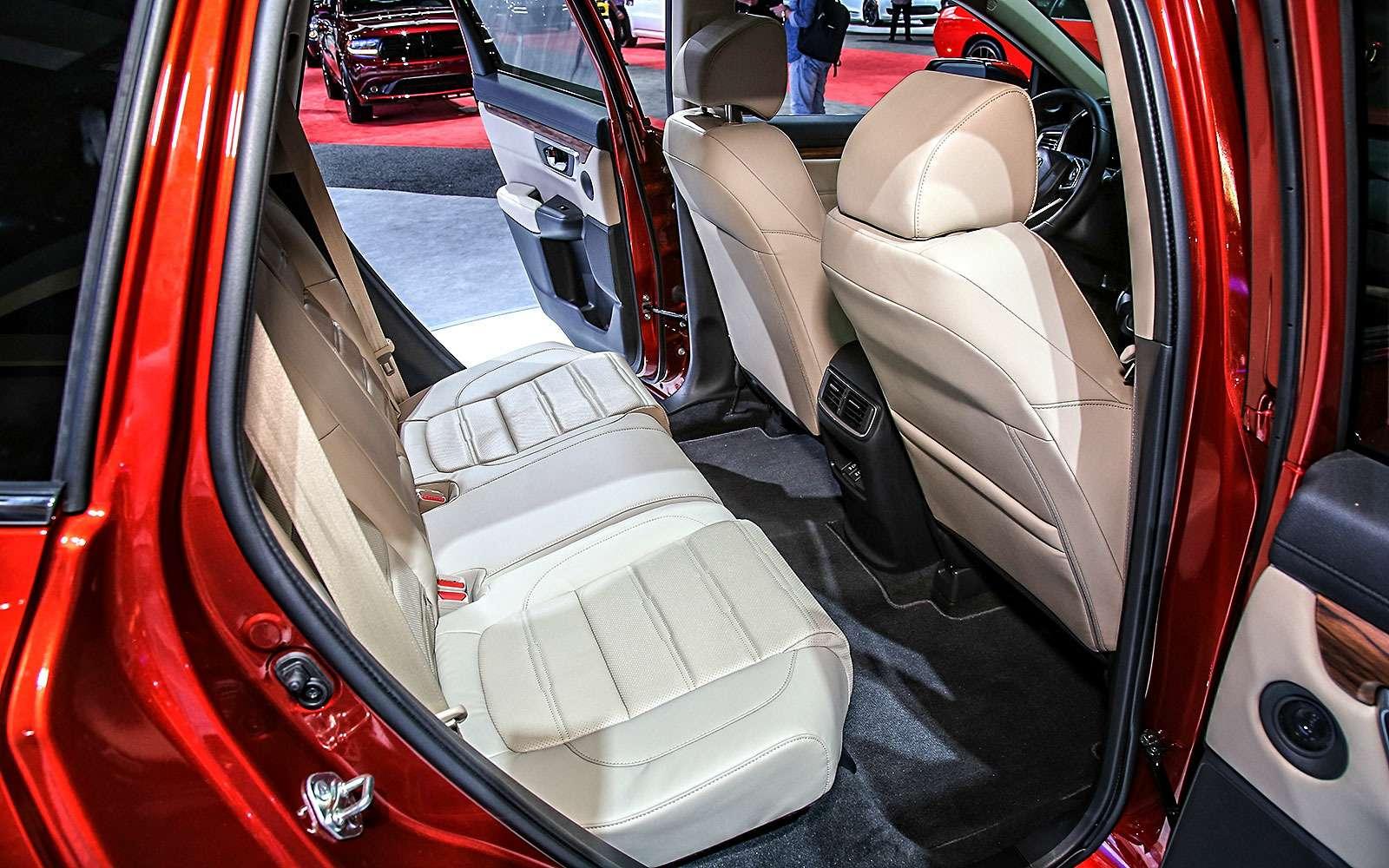 Пятый пошел: Honda представила кроссовер CR-V нового поколения— фото 665122