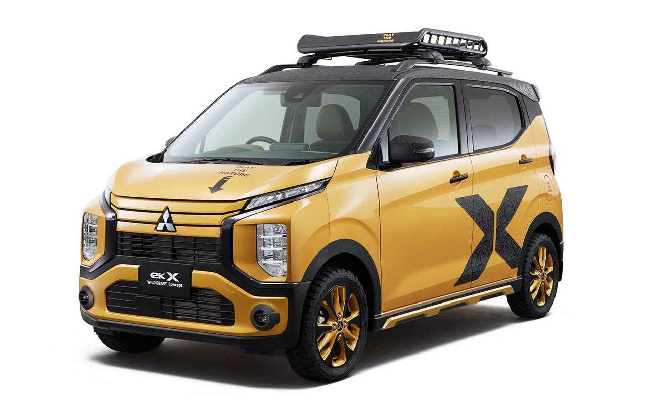 Премьера возрожденной Mitsubishi Delica: через две недели— фото 1041911