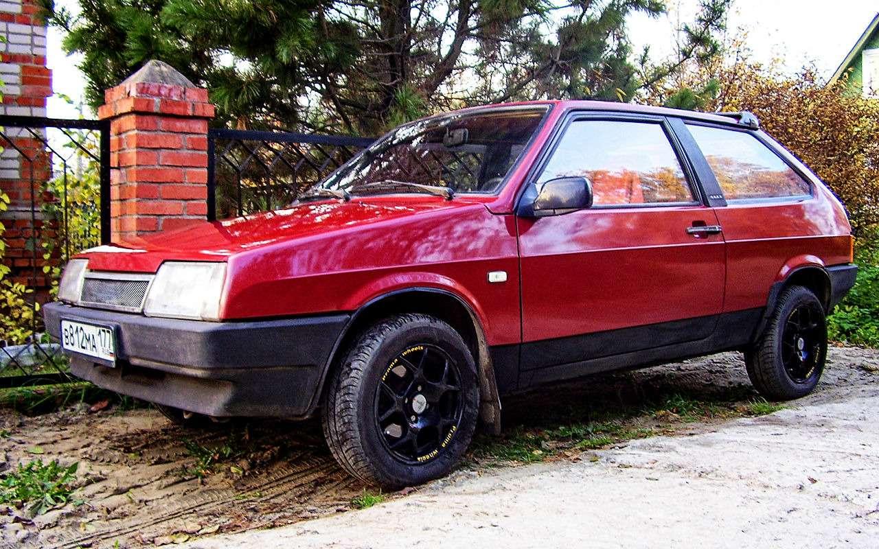 Мойпервый автомобиль: ВАЗ-2108— фото 842818