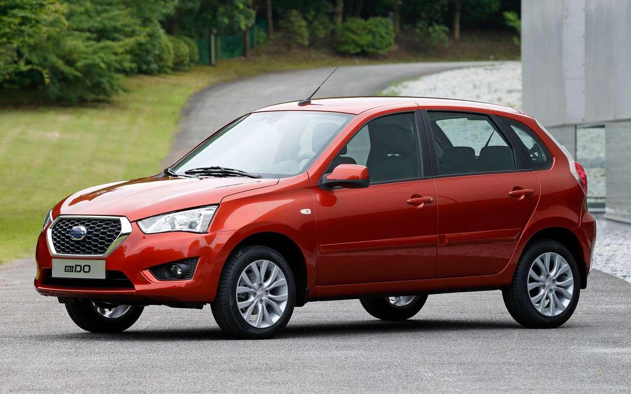 Datsun отзывает машины из-за риска отрыва колес