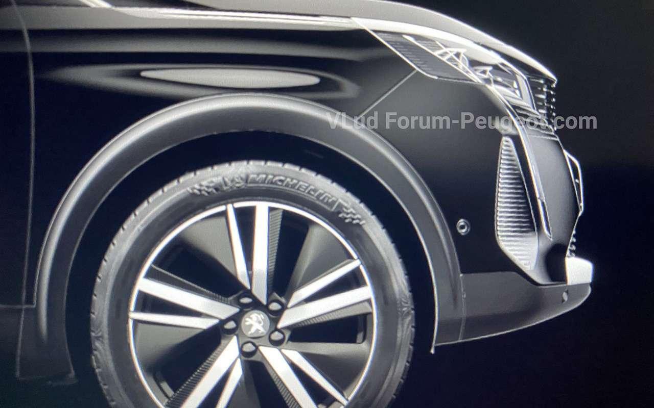 Обновленный Peugeot 3008: неофициальные фото— фото 1162234