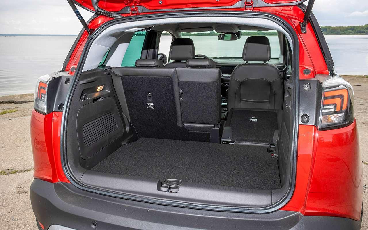 Opel Crossland: подробный разбор нового кроссовера— фото 1263203