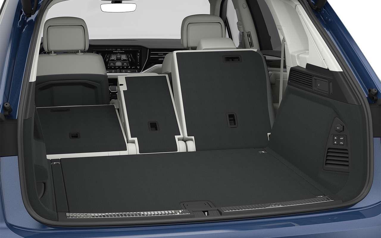 Тест-драйв нового Volkswagen Touareg: хочется большего— фото 871636