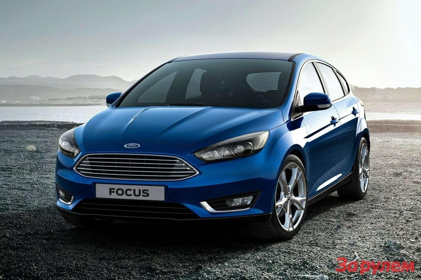 Обновленный Ford Focus