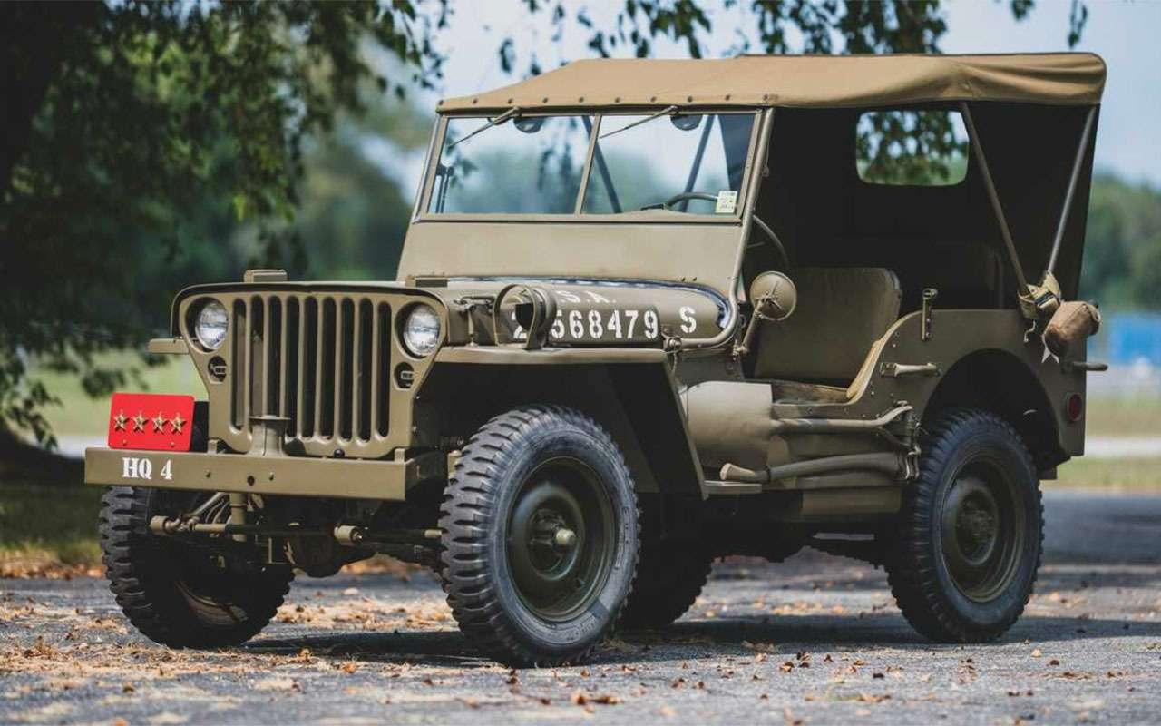 Могучий клещ, тот самый Willys, Hummer...— аукцион военных автомобилей— фото 1104424