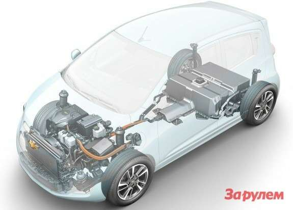 Chevrolet Beat EVConcept architecture