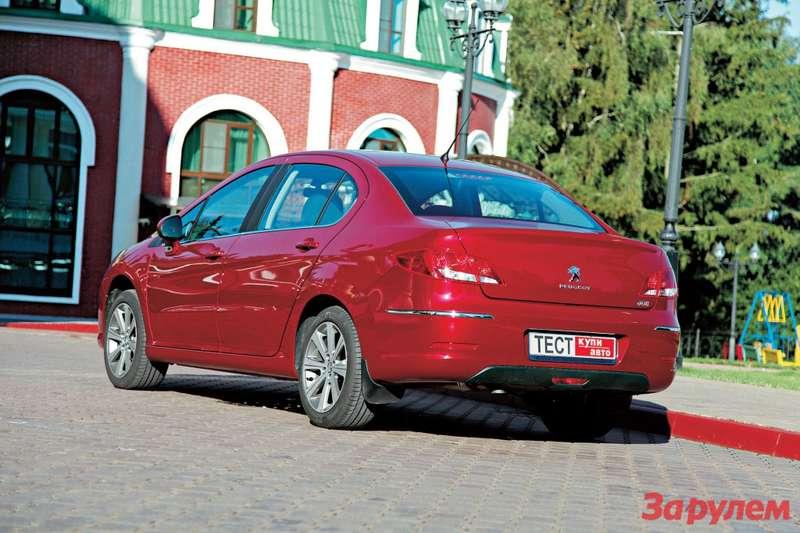 «Пежо-408», от 549 000 руб., КАР от 5, 64 руб./км
