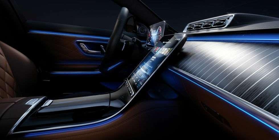 Новый Мерседес S-класса: фото роскошного интерьера— фото 1157987