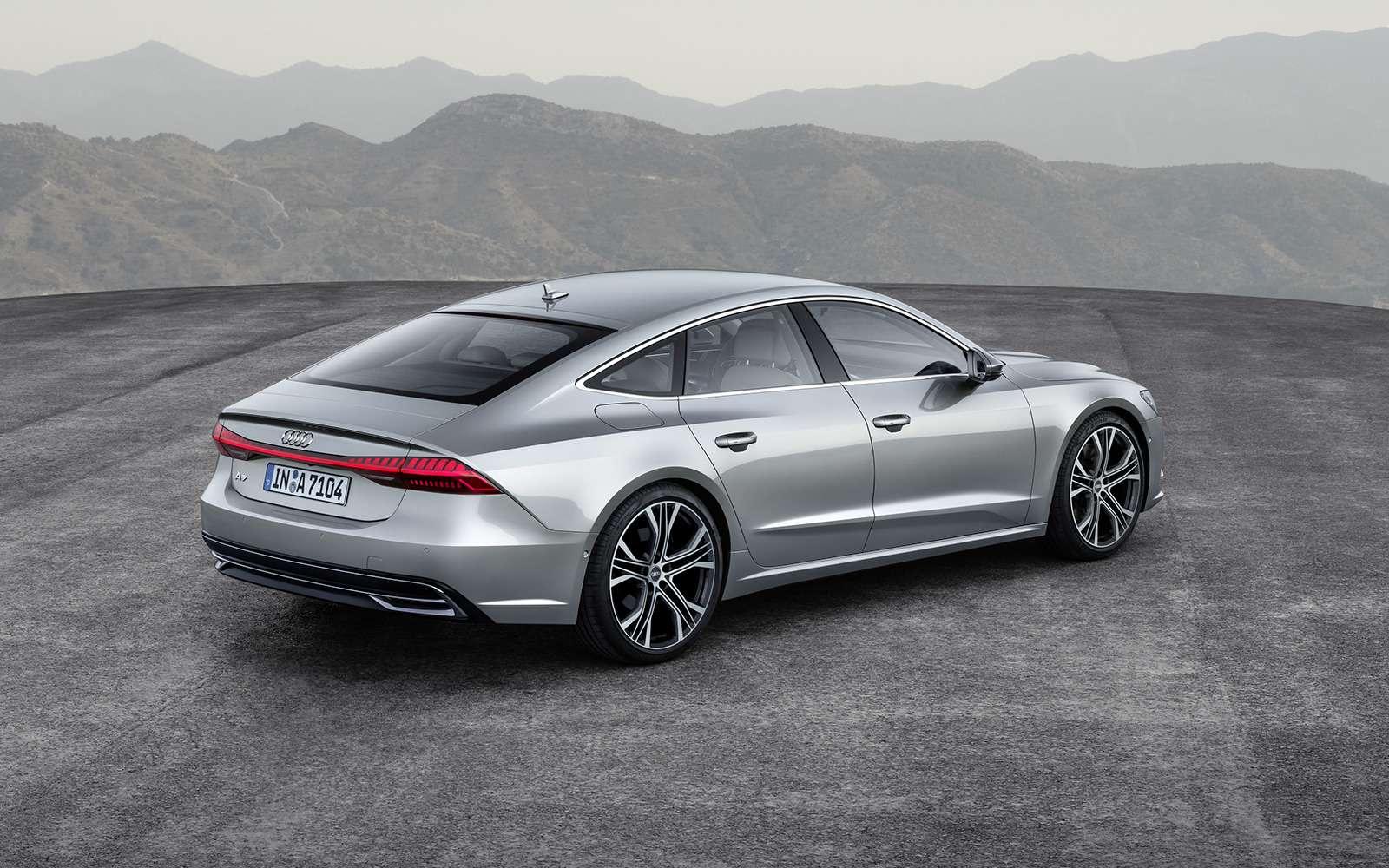 Новая Audi A7Sportback— вся насенсорах— фото 807156