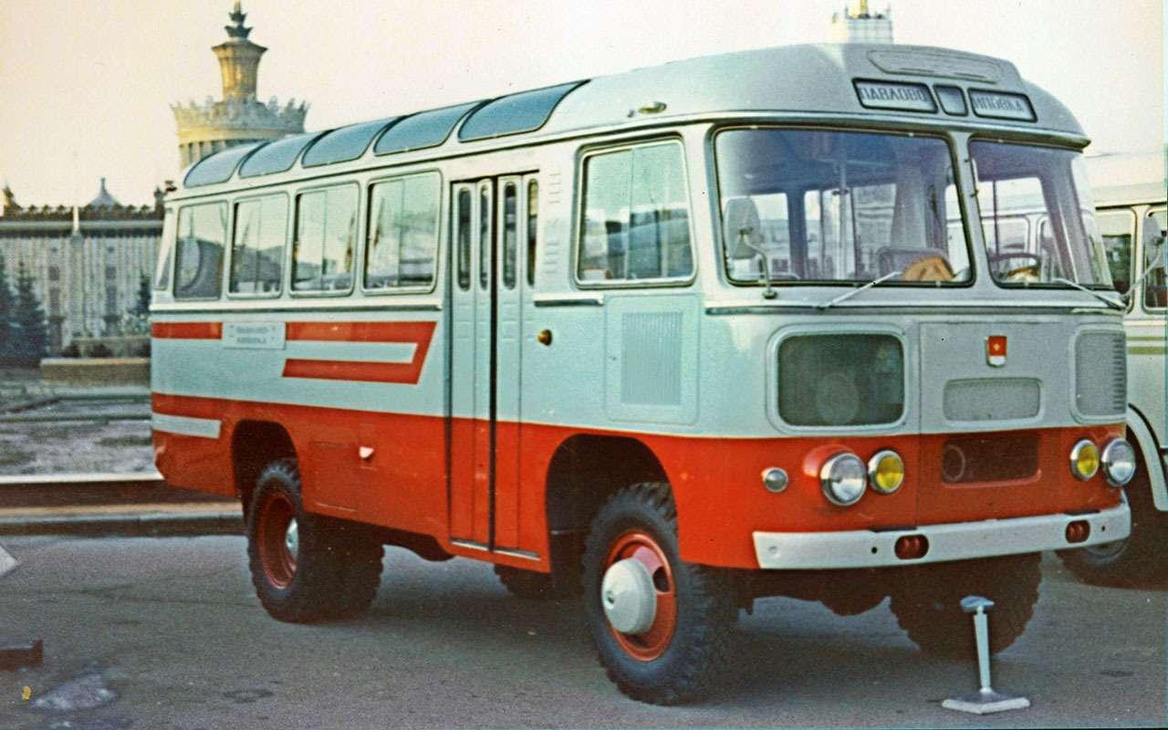 9 самых необычных советских автобусов (итроллейбусов)— фото 1258917