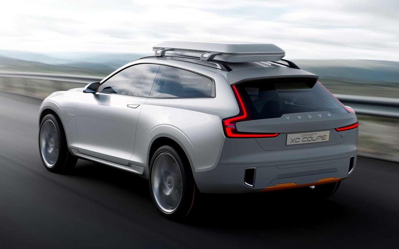 Volvo сделает дорогое кросс-купе XC100— фото 1122304
