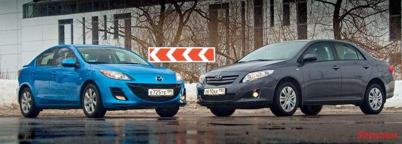 Mazda 3, Toyota Corolla