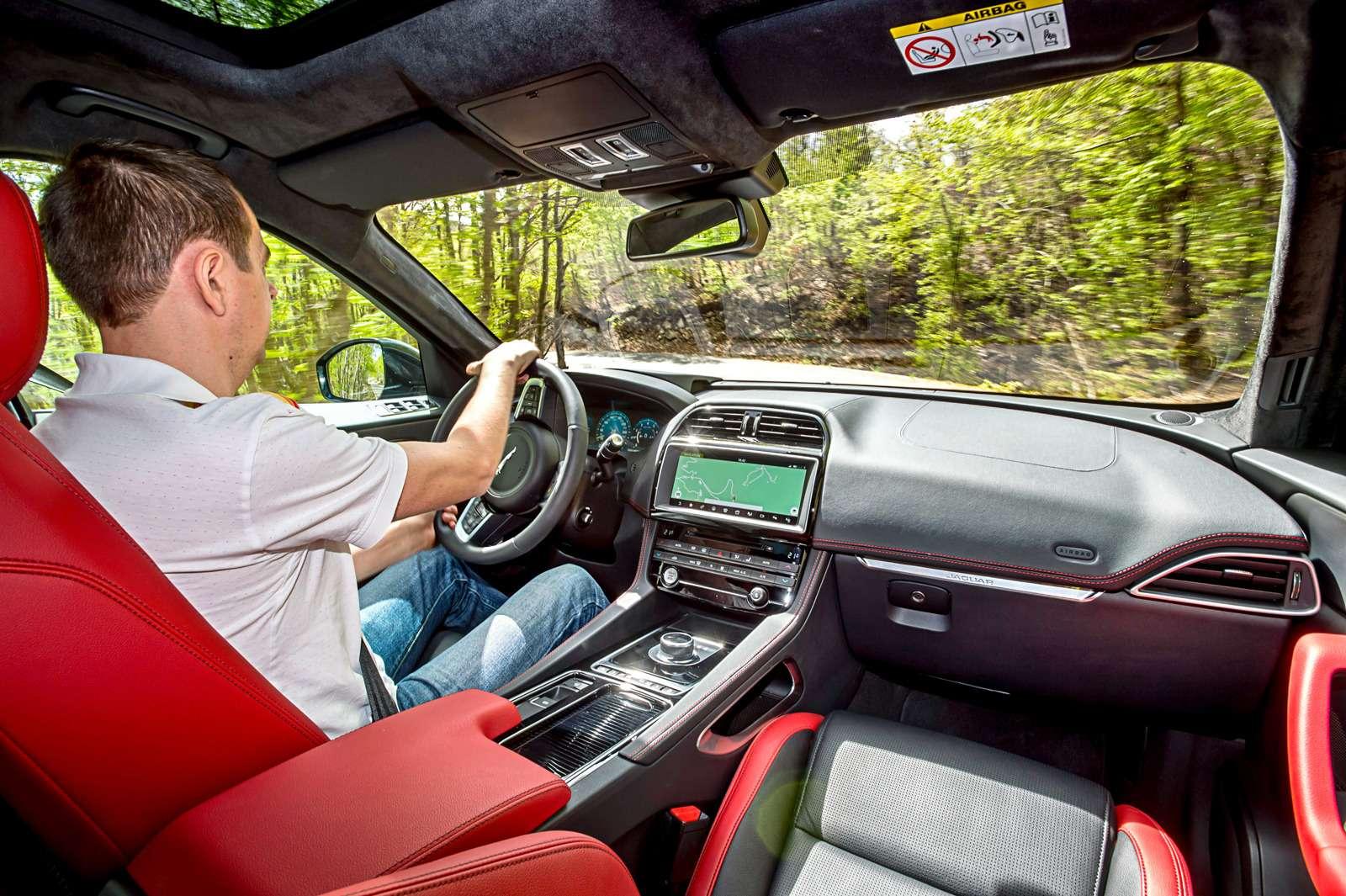 Первый тест нового кроссовера Jaguar F-Pace: пересечения— фото 597178