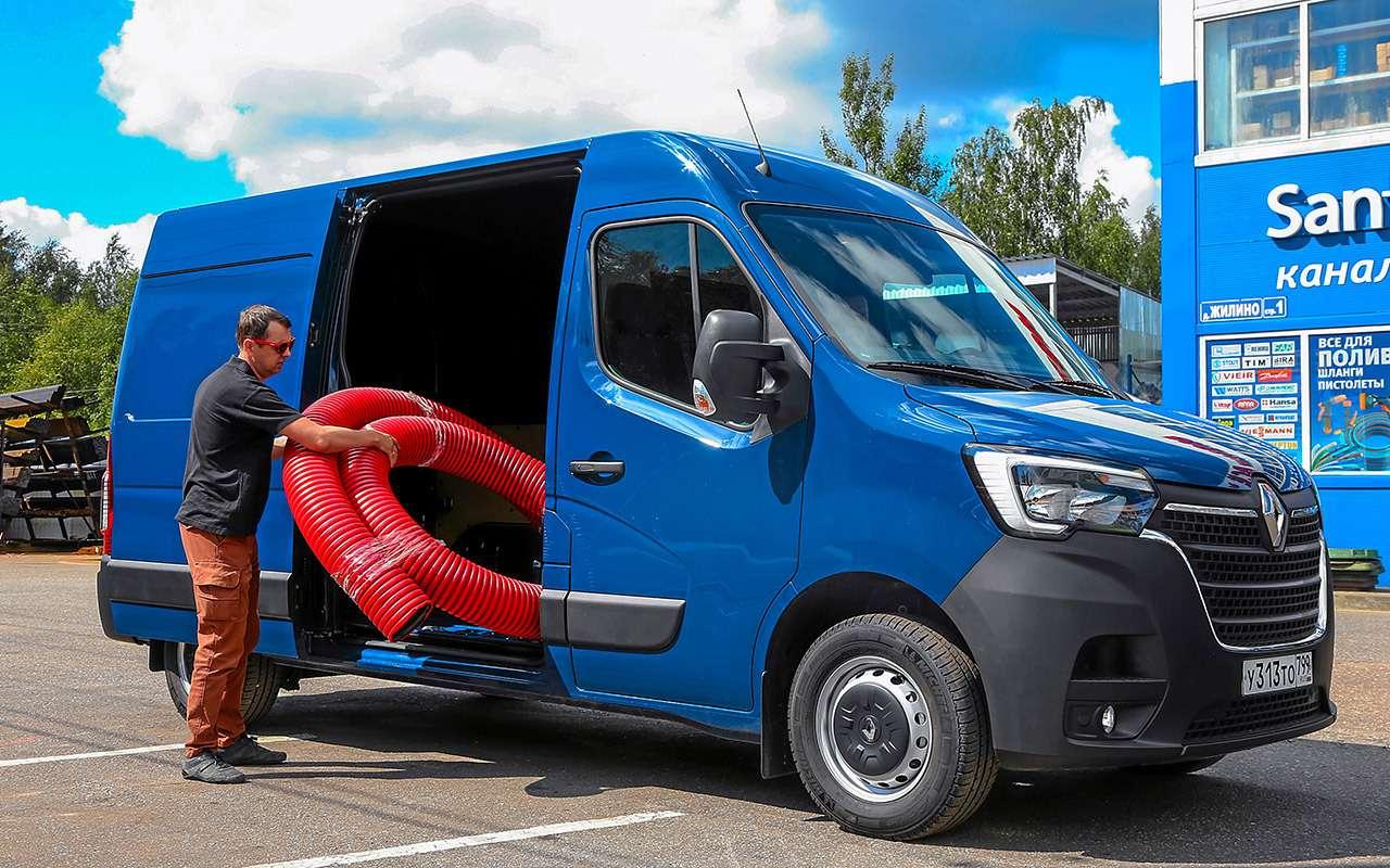Обновленный Renault Master— тест длябизнесменов— фото 1164068