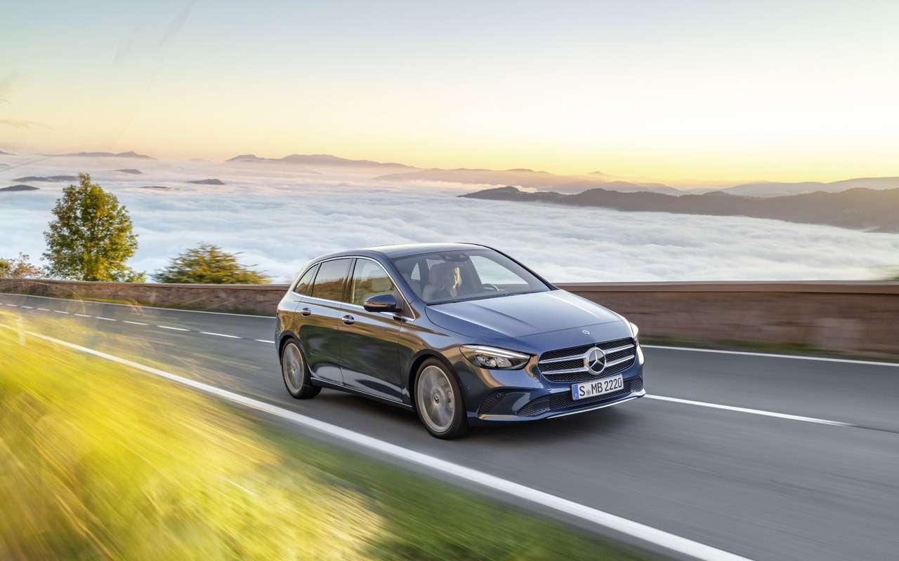 Новый Mercedes-Benz B-класса: онполучил опции отроскошного S-класса— фото 910416