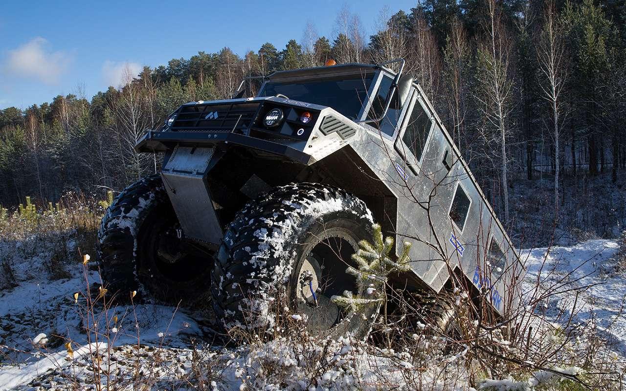 Вездеход «Бурлак»: лучшая машина дляснежных пустынь— фото 1001453