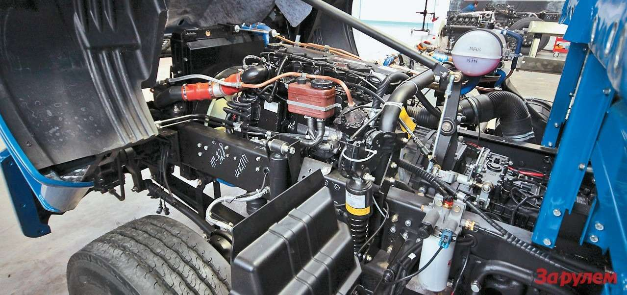 Наши перевозчики уже «распробовали» дизели Cummins 6ISBe наКАМАЗах.  Моторы уже пользуются популярностью благодаря надежности иэкономичности