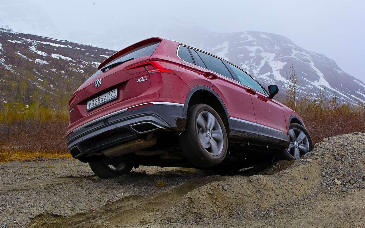 Volkswagen Tiguan— самый суровый тест— фото 893676