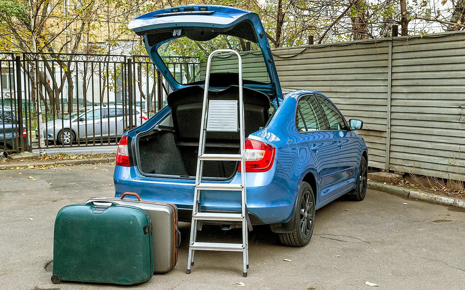 Багажник Skoda Rapid