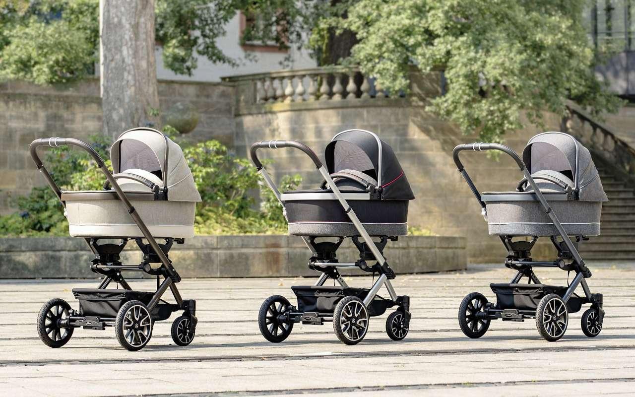В Mercedes-Benz сделали коляску длямладенцев— фото 918578