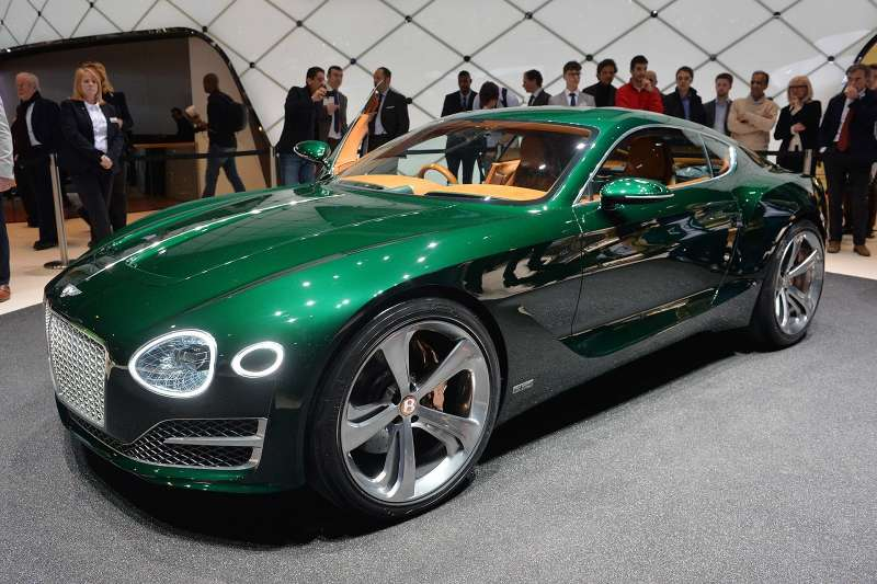 Bentley представил концепт новой модели вЖеневе