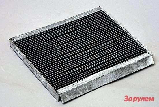 Порегламенту салонный фильтр подлежит замене накаждом ТО, что позволяет избежать неприятных запахов.
