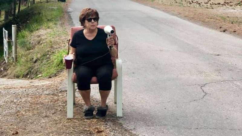 Добровольный помощник: бабка сфеном против лихачей