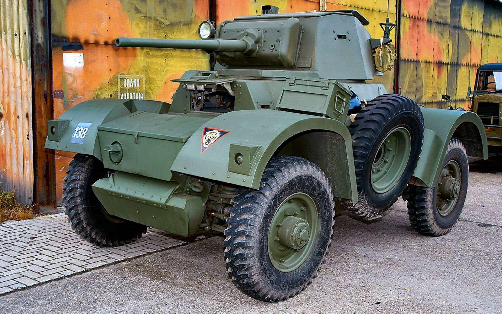 Отмечаем День Победы сбронеавтомобилем-ветераном БА‑64Б— фото 745619