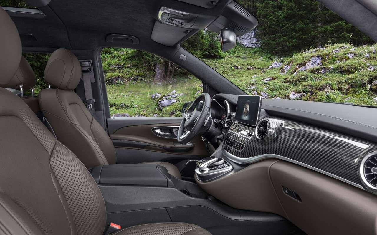 Начался прием заказов наобновленный Mercedes-Benz V-класса— фото 954236